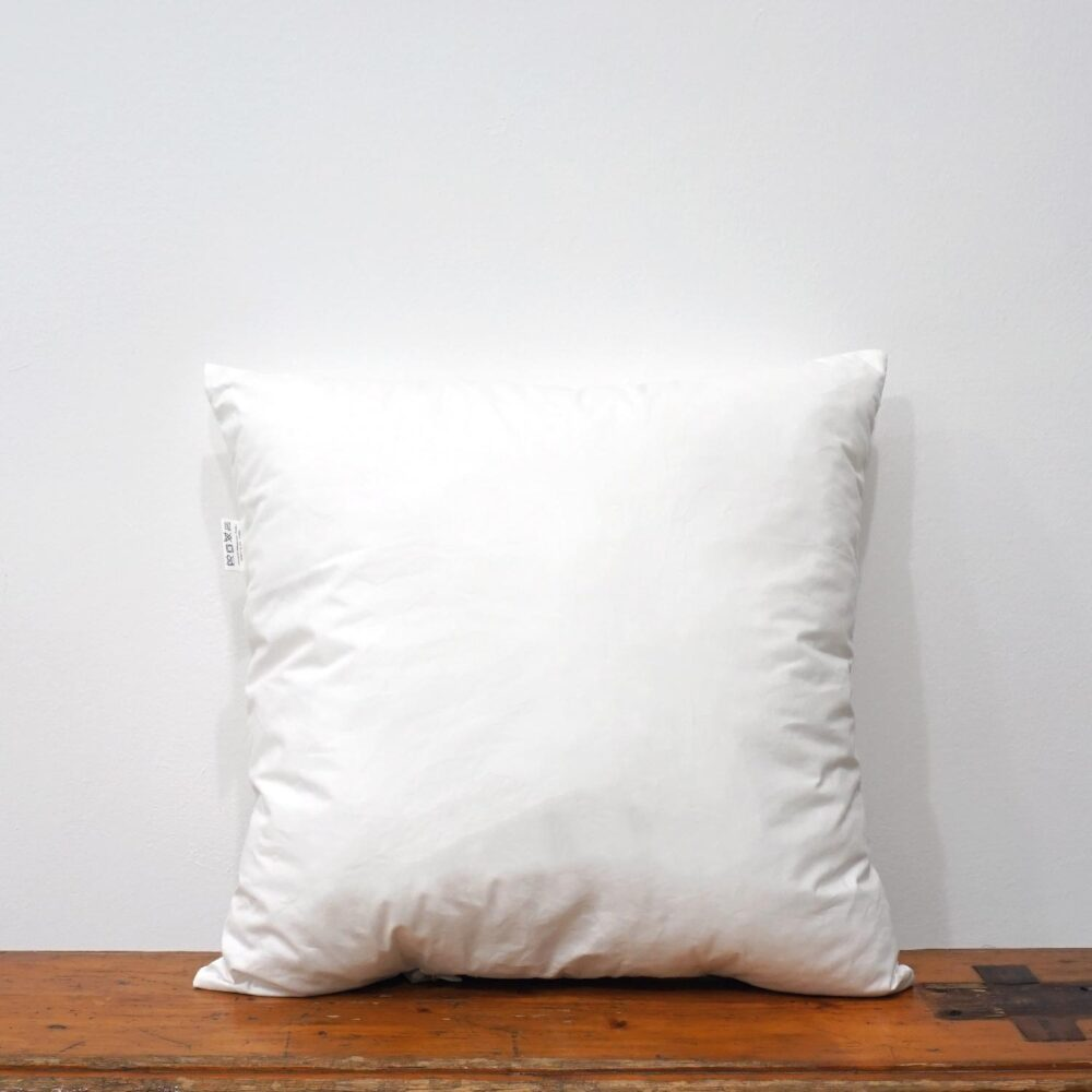 40x40 cm white cotton cushion inner