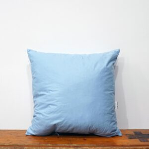 40x40 cm blue cotton cushion inner