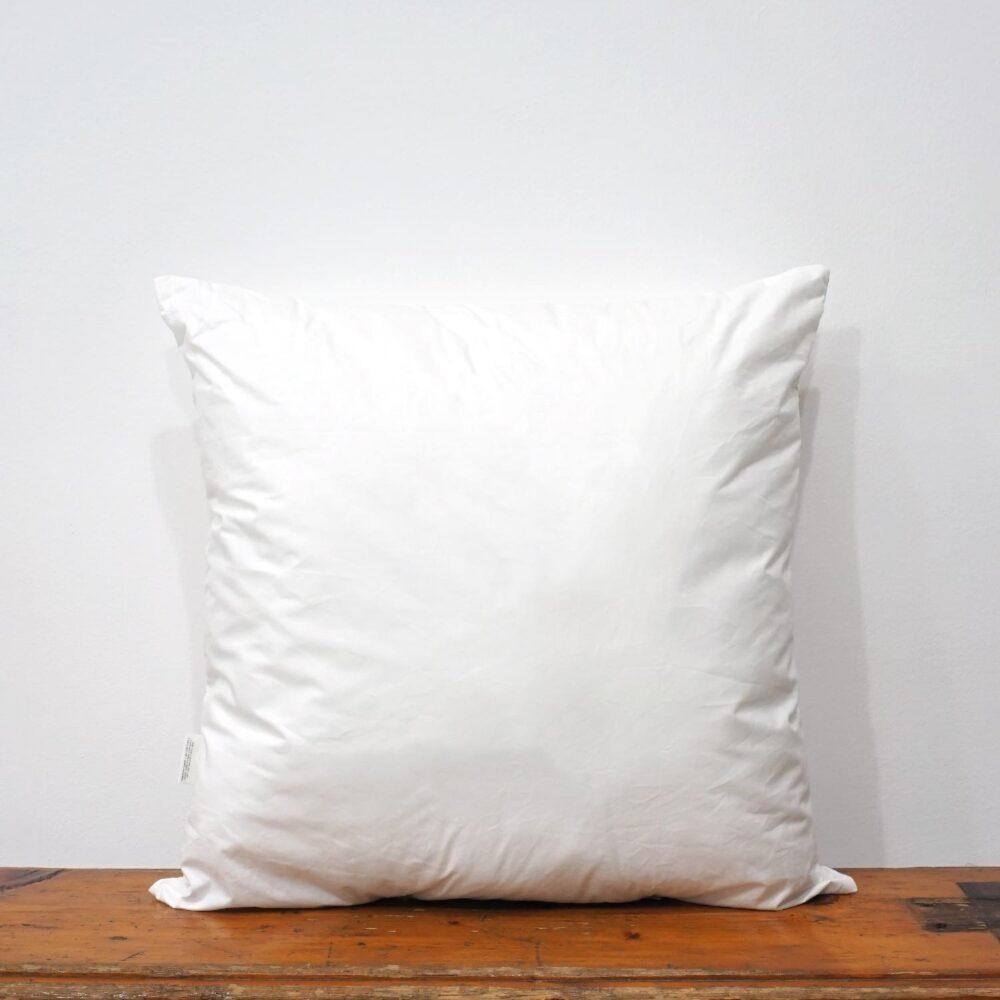 42x42 cm white cotton pillow form