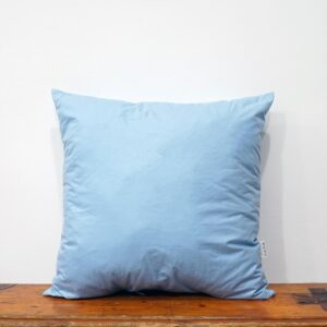 42x42 cm blue cotton pillow form