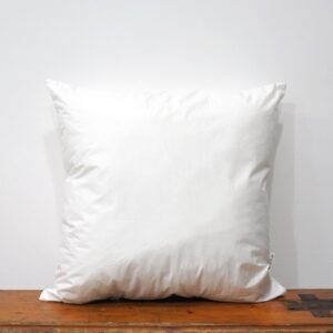 45x45 cm white cotton pillow insert