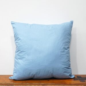 45x45 cm blue cotton pillow insert