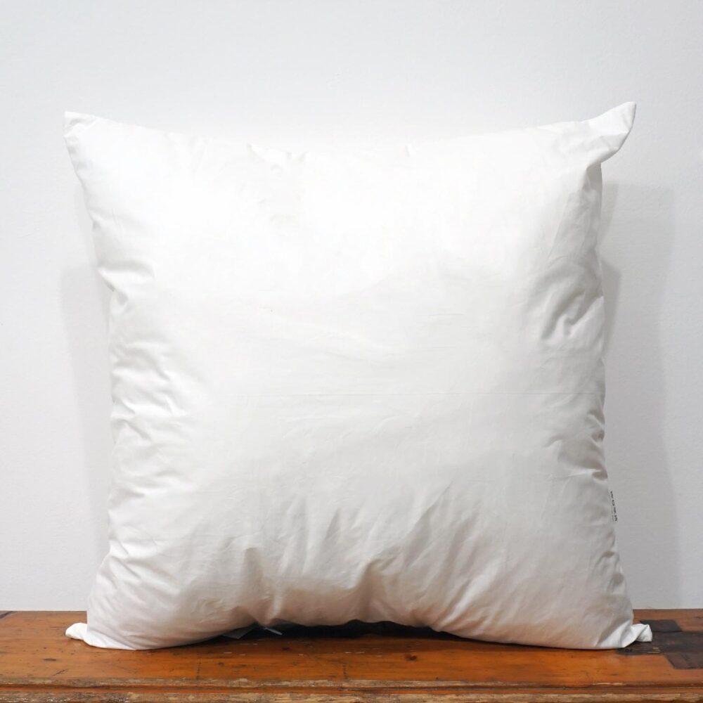 50x50 cm white cotton pillow inner