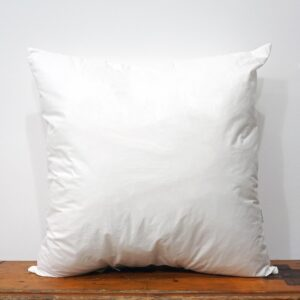 50x50 cm white cotton pillow inner