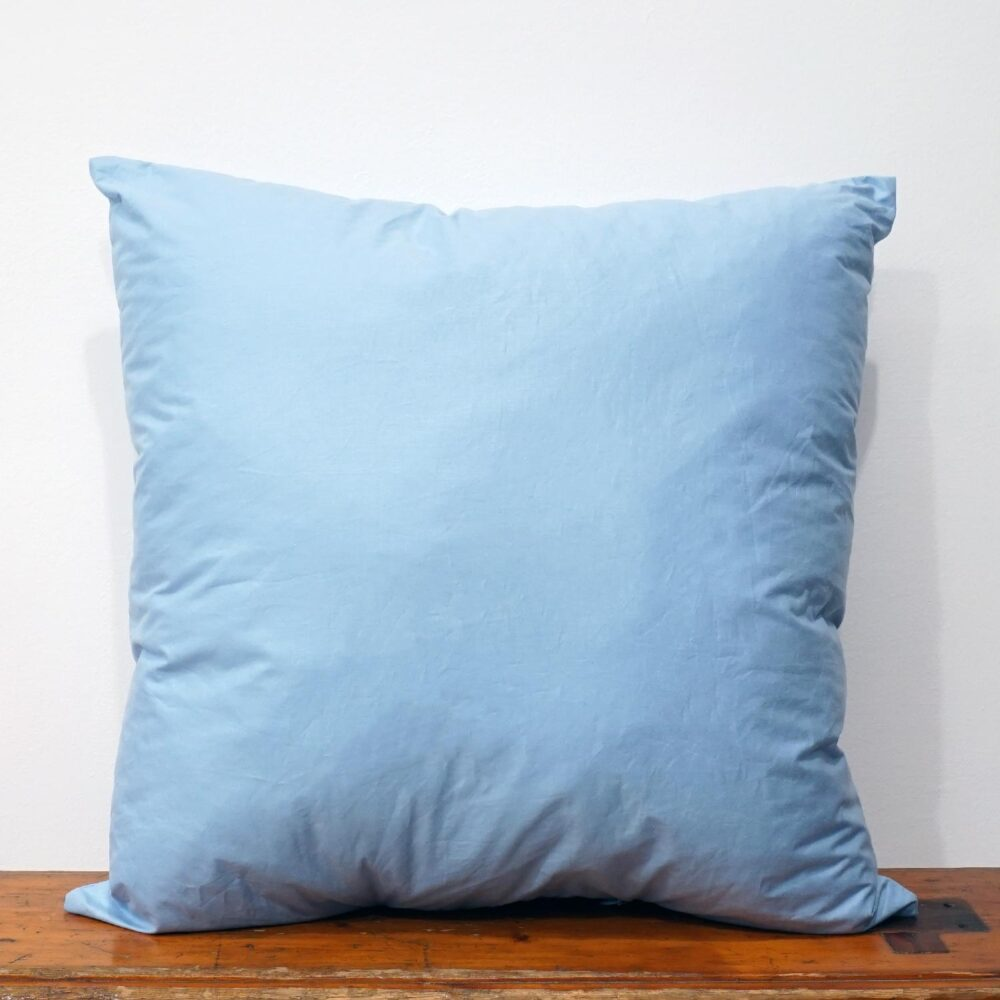 50x50 cm blue cotton pillow inner