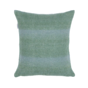 green wool cushion